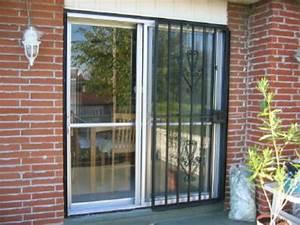 Grilles pour portes patio securite a domicile securi toit for Grille de protection pour porte fenetre