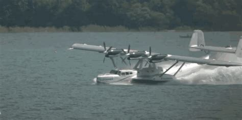 Flying Boat Gif by This One Of A Dornier Do 24 Flying Boat Spin