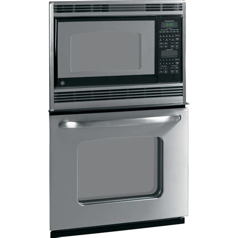 combo microwave and oven shop ge self cleaning microwave wall oven combo stainless