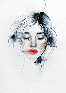 Watercolor Woman Faces | www.pixshark.com - Images ...