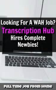 legit transcription transcription hub transcriber jobs review is it a scam full time job from home