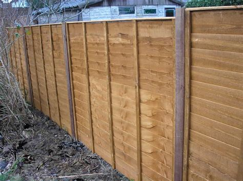 Types Of Fence Panel