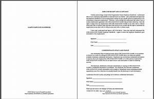 Sample employee handbook amp manual templates download for Company safety manual template