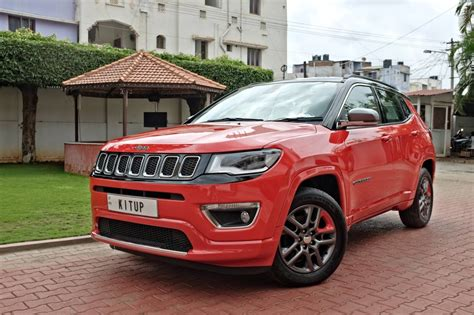 Jeep Compass Modification by Modified Jeep Compass Front Three Quarters