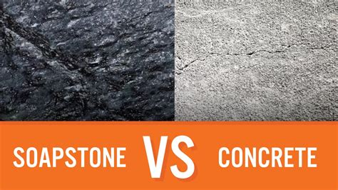 How To Make Soapstone by Soapstone Vs Concrete Countertop Comparison