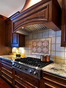 Patterned, Tile, Backsplash, In, Traditional, Kitchen