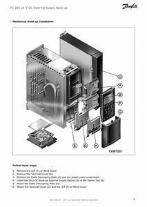 Danfoss Vlt U00ae 24 V Dc Supply Option Mcb 107 Installation