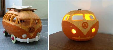 carve  simple vw camper van pumpkin home design