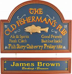 10 Plaques for the Fisherman's Man Cave - All Gifts Considered