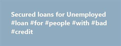 25+ Best Ideas About Secured Loan On Pinterest