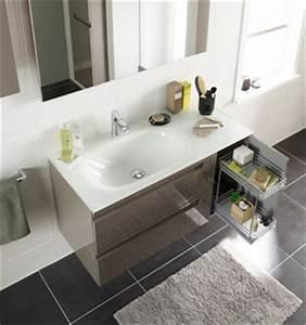 Plan De Travail Salle De Bain Lapeyre : armoire salle de bain faible profondeur ~ Farleysfitness.com Idées de Décoration