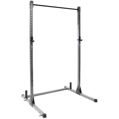 dtx fitness olympic squat rack power cage pull  bar multi gym weight lifting ebay