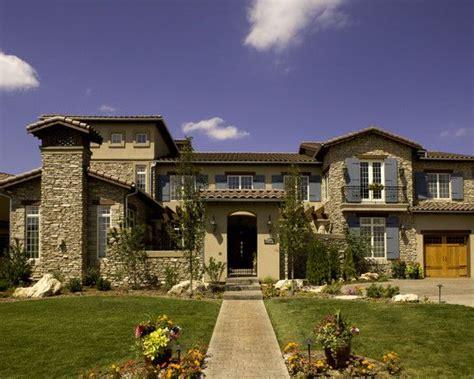 tuscan exterior design pictures remodel decor  ideas