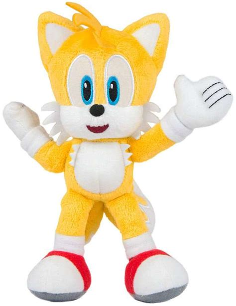Sonic The Hedgehog Collector Series Tails 8 Plush Modern ...