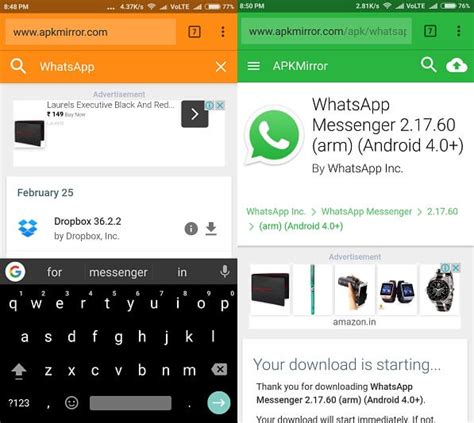 how to get back whatsapp status on android