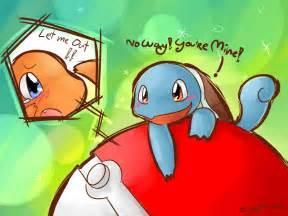 Pokemon Squirtle X Charmander