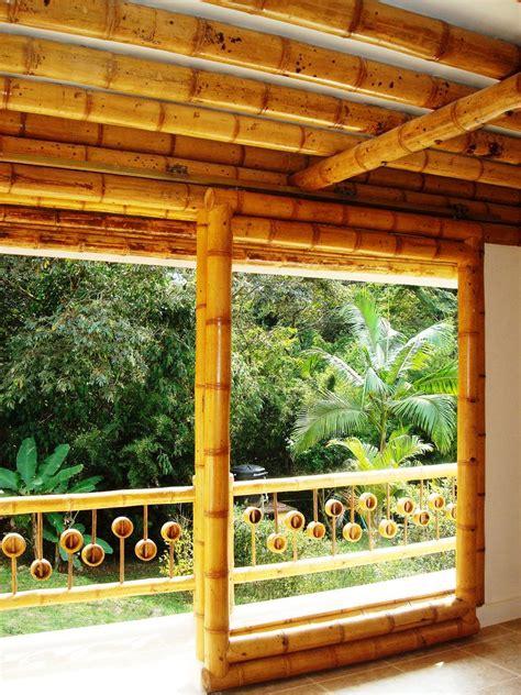 diseno  construccion de casa montoya en guadua  bambu