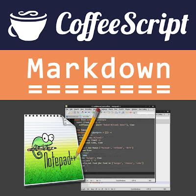 markdown color coffeescript and markdown syntax colour highlighting for