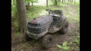 Off-road Lawn Mower Test Drive