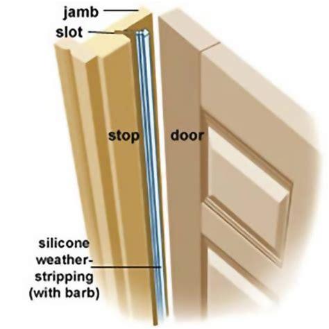 door weather jamb doors exterior stripping garage weatherstripping draft repair strips wood diy seal front frame around sliding improvement replacing