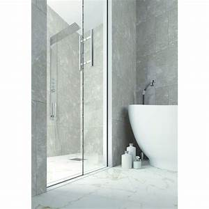 porte coulissante a galandage pour cabine de douche With porte de douche vitrée