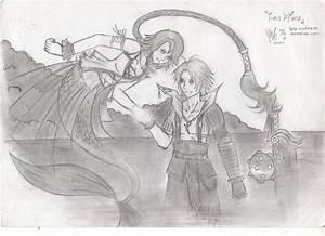 Yuna And Tidus By Zidane09 On DeviantArt