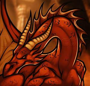How to Draw Smaug from The Hobbit, Step by Step, Dragons ...