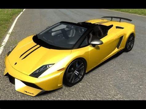 Testé en version jeu de 0.14.0.4.7356. BeamNG.Drive Mod : Lamborghini Gallardo LP570-4 Spyder (Crash test) - YouTube