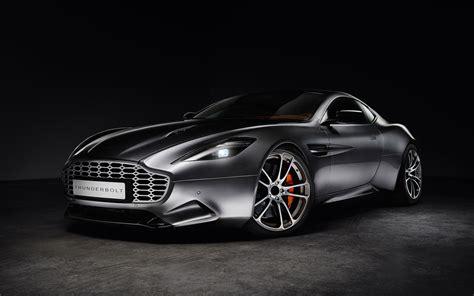 Aston Martin Vanquish Thunderbolt Wallpaper