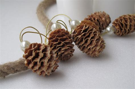pine cone christmas ornaments natural pine cone ornaments christmas ornaments by florartsilva