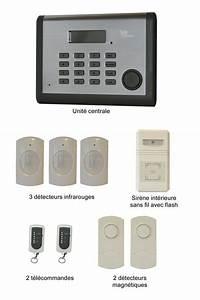Alarme Maison Sans Fil Pas Cher : alarme maison pas cher simple alarme maison sans fil ~ Premium-room.com Idées de Décoration