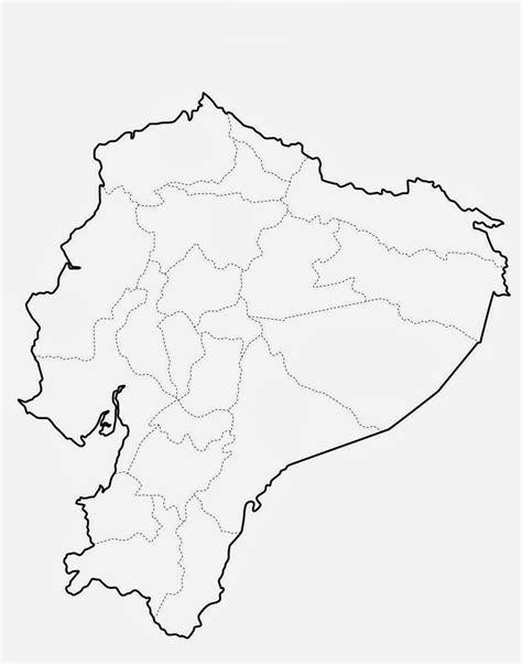 resultado de imagen  mapa politico del ecuador actual