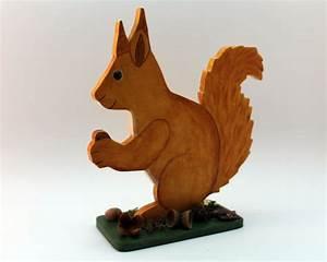 Eichhörnchen Aus Holz : handemaltes eichh rnchen aus holz holzdeko online shop unikate holzfiguren ~ Orissabook.com Haus und Dekorationen
