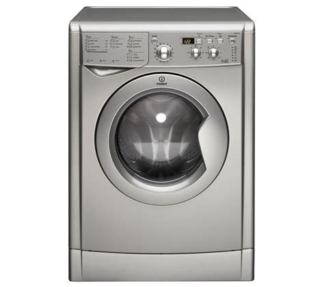 Buy Indesit Ecotime Iwdd7143s Washer Dryer  Silver Free