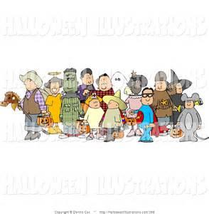 Clip Art Children Halloween Costumes