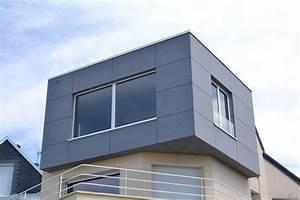 Bardage Fibre Ciment : agrandissement d 39 une maison d 39 habitation en bardage fibre ~ Farleysfitness.com Idées de Décoration