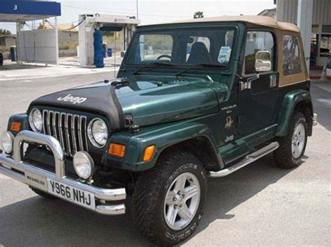 jeep wrangler  car costa blanca spain  hand