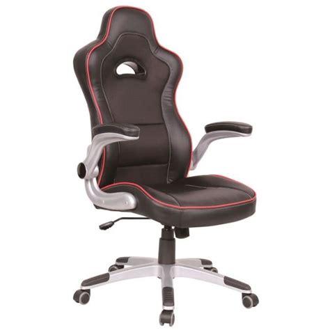 fauteuil de bureau 224 si 232 ge baquet quot centaure quot achat vente chaise de bureau noir cdiscount