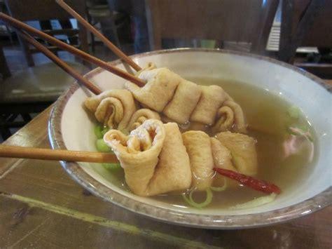 odeng  korean fish crepe   stick street food