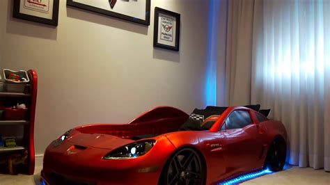Corvette Car Bed - customized corvette car bed step2 corvette 174 toddler to