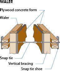 waler beam concrete forms beams concrete