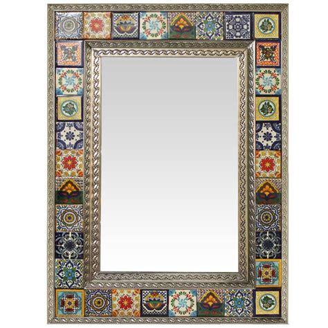 talavera tile mirrors collection talavera tile mirrorw