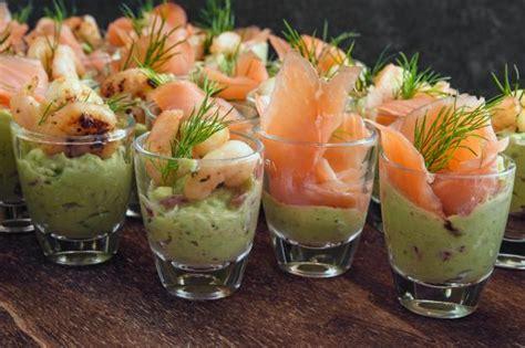 nos idees pour preparer des verrines avocat  saumon fume