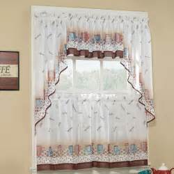 kitchen cafe curtains ideas coffee curtains for kitchen
