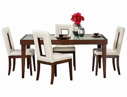 Furniture Slumberland Dining Enzo Sets Cherry Table