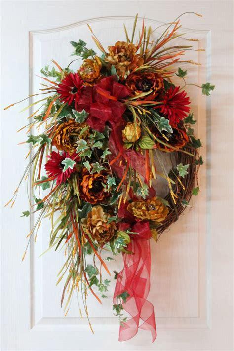 autumn wreaths front door large fall wreath front door wreath autumn wreath rustic wreath country wreath floral