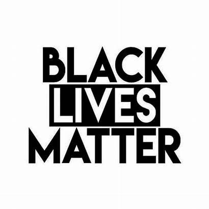 Blm Matter Lives Vinyl Equality Sticker Movement