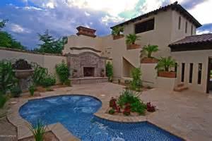 Modern Luxury Homes Interior Design Santa Barbara Style Home In Paradise Valley 21