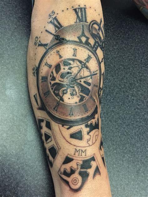ideas  time piece tattoo  pinterest