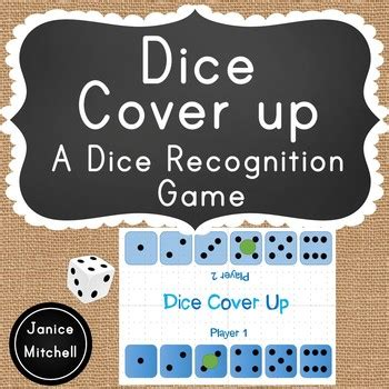 dice cover   dice pattern subitizing game